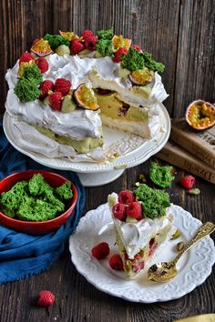 Pavlova, Sweet Life, Camembert Cheese, Waffles, Food And Drink, Sweets, Baking, Breakfast, Recipes