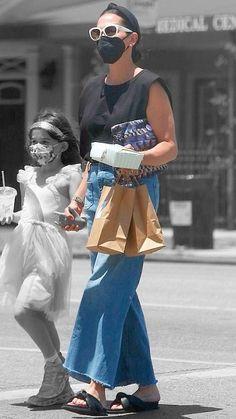 Jenna Dewan, Off Duty, Veronica, Color Splash, Contrast, Friday, California, Street Style, Chic