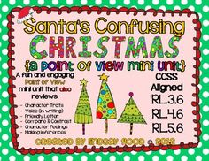 Santa's Confusing Christmas - Point of View  Mini Unit (Perspective) $