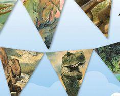 Dinosaur Banner Jurassic World Party, Dinosaur Decor. Archaeological Dig, Dinosaur Party Dino Party Decor, Jurassic Park Retro Dinosaurs