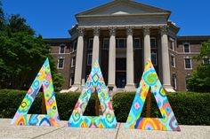 Great summer colors at SMU Tri Delta!