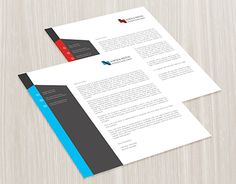 """Check out new work on my @Behance portfolio: """"Corporate Letterhead"""" http://be.net/gallery/35524309/Corporate-Letterhead"""