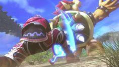 Super Smash Bros 4: Shulk Trailer | Xenoblade (WII U / 3DS Gameplay Scre...