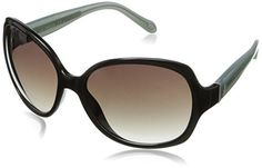 Fossil Womens FOS3014S Round SunglassesBlack59 mm -- Be sure to check out this awesome product.Note:It is affiliate link to Amazon.