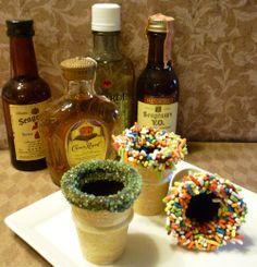 Edible shot glasses