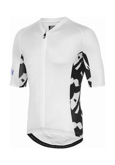 Core Brush Jersey White/Black (Side Print) Cycling Jersey Attaquer - 1