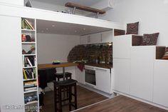 Studio sleeping loft