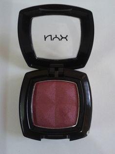 NYX Single Eyeshadow Burgundy Pearl (3)