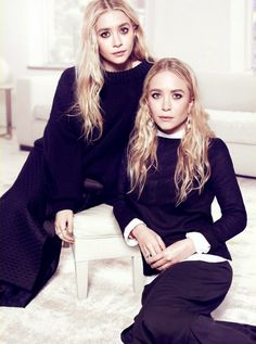Mary-Kate and Ashley Olsen The EDIT black