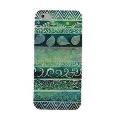 Verdes Totems Patrón duro para el iPhone 4/4S – USD $ 1.99