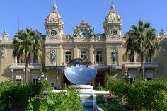 Monaco's Monte Carlo Casino frontage, Place du Casino.