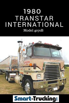 1980 TRANSTAR INTERNATIONAL EAGLE CABOVER MODEL 4070B - A fantastic restoration on this Transtar Cabover, mostly to original specs, with some cool upgrades!