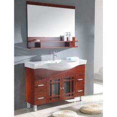 """WA3138 48"""" Sink Chest - Solid Wood   This sink chest is available at Kitchen Cabinet Kings with a 9% discount."""