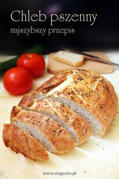 Chleb pszenny – najszybszy i najprostszy przepis – Via Gusto