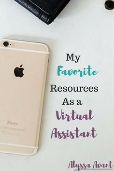 My favorite resources as a virtual assistant.  These are the services I highly recommend and use daily.