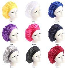 ddba6460465 New Muslim Women Stretch Sleep Turban Hat Scarf Silky Bonnet Chemo Beanies  Caps Cancer Headwear Head Wrap Hair Loss Accessories Skull Cap Beanie Boo  From ...