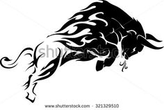 Find Raging Bull Flame Trail stock images in HD and millions of other royalty-free stock photos, illustrations and vectors in the Shutterstock collection. Thousands of new, high-quality pictures added every day. Life Tattoos, Body Art Tattoos, Toros Tattoo, Vector Graphics, Vector Art, Widder Tattoos, Taurus Bull Tattoos, Bull Images, Dark Fantasy Art