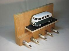 """Schlüsselbretter & -kästen - Schlüsselbrett 5-Zylinder """"Oldtimer"""" limitiert - ein Designerstück von andercover bei DaWanda"""
