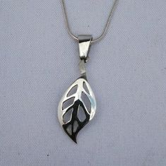 This item is unavailable Stylish Jewelry, Jewelry Sets, Unique Jewelry, Leaf Pendant, Silver Jewelry, My Etsy Shop, Pendant Necklace, Jewels, Sterling Silver