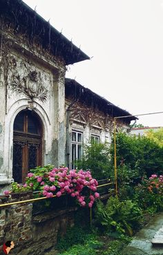 """sunsetvally: """" incolours: """" You're all welcome! Bucharest by DincoloDeFatade """" My beautiful Bucharest ! Henri Matisse, Abandoned Buildings, Abandoned Places, Round Earth, Rose Trees, Bucharest Romania, Window View, Old Building, Weird World"""