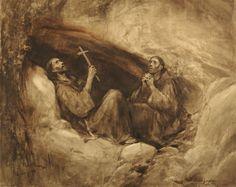 Francisco se cobija en una cueva