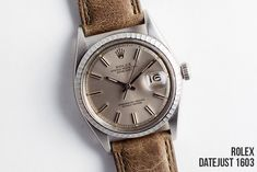 A vintage Rolex Datejust is one of the few material items that you can both enjoy for the rest of your life and pass down to the next generation to do the same.