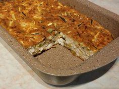 Cukkinis-sajtos csirkemell recept lépés 5 foto Lasagna, Ethnic Recipes, Food, Lasagne, Essen, Yemek, Meals
