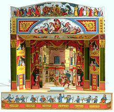Pollocks toy theater.