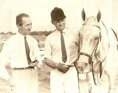 Bert De Nemethy and William Steinkraus
