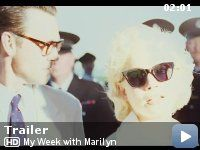 """I don't like Rated R movies so I might wait until some friends see it first.  But """"My Week with Marilyn"""" looked good during the Oscars."""