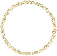 Golden Round Floral Border Transparent Clip Art Image Frame Border Design, Borders And Frames, Borders Free, Engraving Art, Creative Poster Design, Black White Gold, Estilo Retro, Floral Border, Instagram Highlight Icons