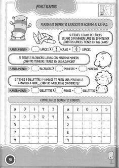 Foto: Math Multiplication, Preschool Math, Archive, Album, Education, Sign, Ideas Para, Word Search, Printables