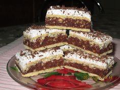 Prajituri de casa: Prăjitura Kati (Caty) Romanian Desserts, Romanian Food, Cookie Recipes, Dessert Recipes, Butter Cookies Recipe, Diy Food, Sweet Recipes, Sweet Treats, Deserts