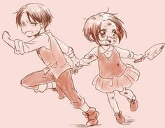 Levi-Hanji --- i dont ship it but it is still adorbs