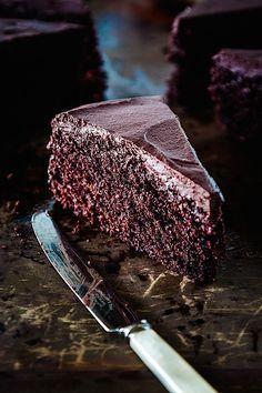 Roasted Cocoa Chocolate Cake Recipe - gluten free