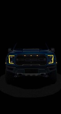 The Ford Monster With yellow 💛 eyes Ford Raptor, Ford Ranger Raptor, Ford Mustang Wallpaper, Automobile, Supercars, Super Sport Cars, Bmw Cars, Car Wallpapers, Ford Trucks