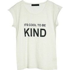 It's cool to be kind :)