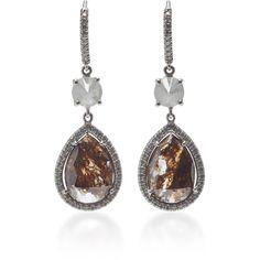 Nina Runsdorf 18K White Gold and Diamond Chandelier Earrings ...