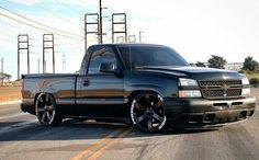 Chevy Silverado Single Cab, Silverado Truck, Chevrolet Silverado, Custom Pickup Trucks, Chevy Pickup Trucks, Nascar Trucks, Gm Trucks, Custom Car Paint Jobs, Chevy Trucks Lowered