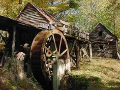 old mill in North Carolina