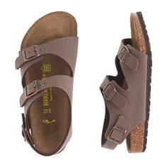 J.Crew - Kids' Birkenstock® three-strap Roma sandals