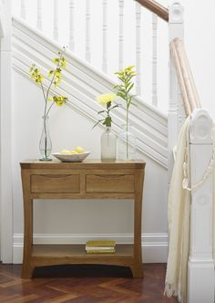 The Orrick Rustic Solid Oak Console Table Is Skillfully Crafted From  Premium Grade Solid Oak Using Traditional, Time Honored Methods.