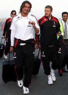 maldini - beckam - Campioni ed ex giocatori - Foto dell' AC Milan, la gallery di foto più ampia dei tifosi del Milan. Condividi le tue foto del AC Milan.