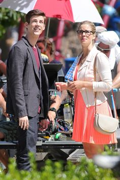 Felicity and Barry #TheFlash #Arrow