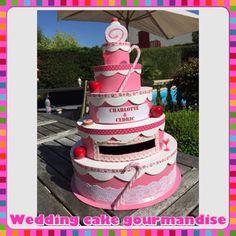 Urne / boîte à enveloppes wedding cake gourmandise