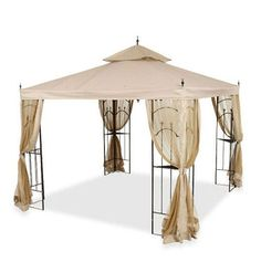 Home Depot Arrow Gazebo Replacement Canopy Cover And Netting Garden Winds