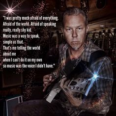 METALLICA - JAMES: an inspiration to all. And an example of why we must fight to keep the arts in schools.