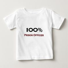 100 Percent Prison Officer T Shirt, Hoodie Sweatshirt