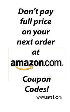 Coupons on amazon orders