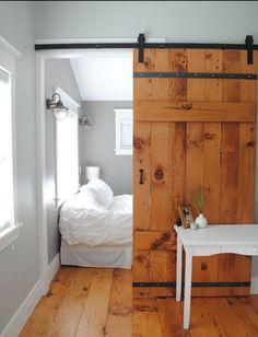 Fabulous Idea for bedroom @ camp.